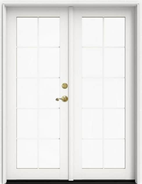 Siteline® Patio French Doors with Divided Lite